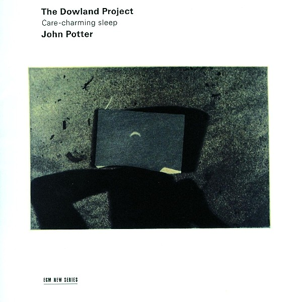John Potter: The Dowland Project - EAN 0028947605225 - Frontcover