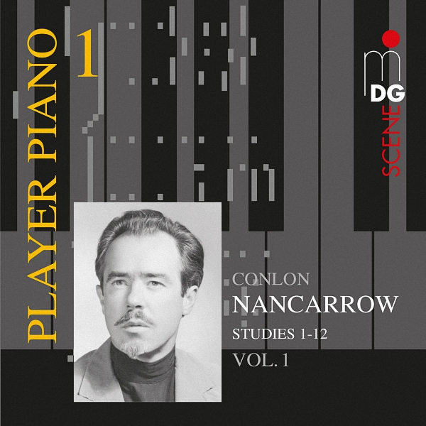Nancarrow: Studies For Player Piano (1) - EAN 0760623140124 - Frontcover