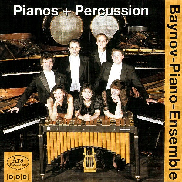 Pianos und Percussion - EAN 4011407973527 - Frontcover