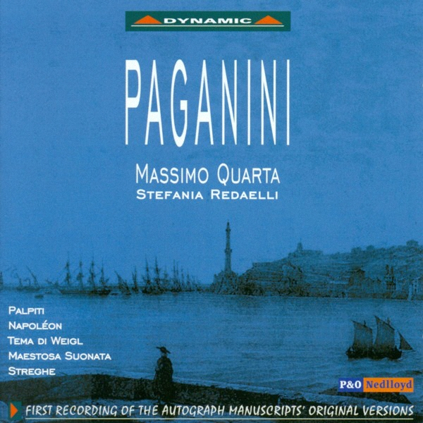 Paganini - EAN 8007144602321 - Frontcover