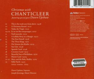Christmas with Chanticleer - EAN 0685738555529 - Backcover