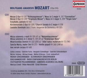 Mozart: Messen - EAN 4006408511533 - Backcover