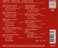 Arte Nova Voices - EAN 0743217456825 - Backcover