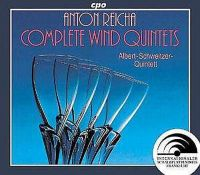 A. Reicha: Bläserquintette op. 88, 91, 99 und 100 / - Adagio d-moll / Andantes - EAN 0761203925025 - Frontcover